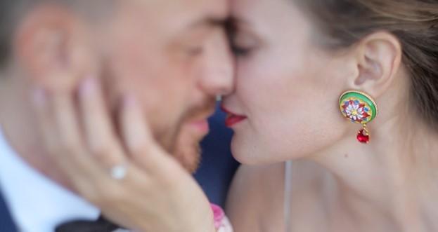 Un frame del video di matrimonio di Roberto ed Elisa al Castello di Tassara