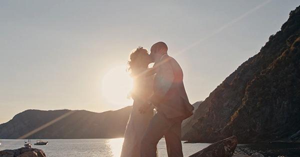 Alex ed Hanna alle Cinque Terre