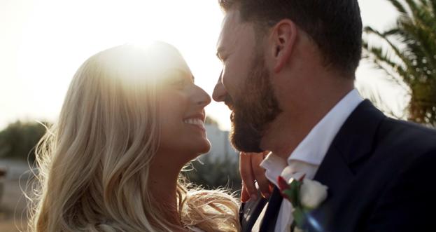 Charlee e Darren sposi a Masseria Potenti, Puglia