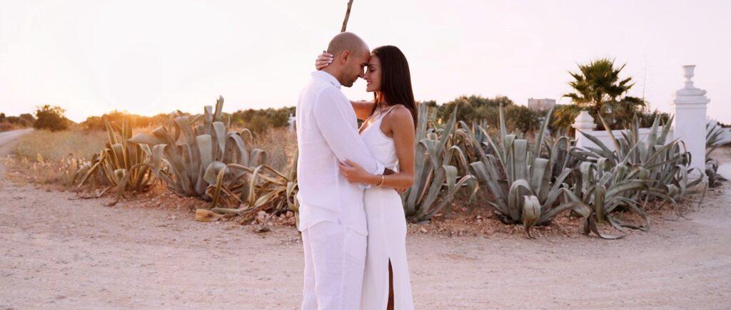 Lea e Michele sposi a Masseria Potenti